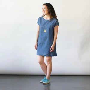 Curator SF • denim sunny dress